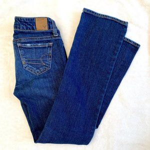 American Eagle Straight Jeans 00 Short